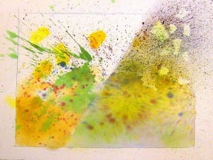 Watercolor Wonders-Wednesday, April 24, 3-4pm (Grades K and up)
