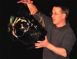 Bubbleology-The Secret of Bubbles!  Sat, Nov 23, 1-2pm (Register all ages)