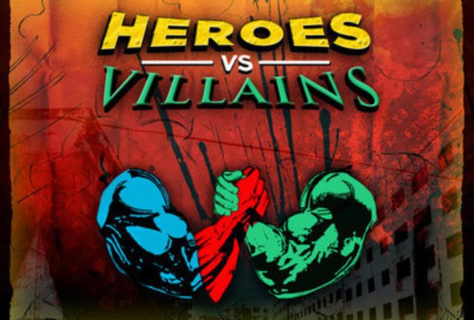 Heroes VS Villains – 7/9/15 @ 6:30pm (Grades K-5) Register