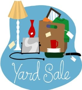 Friends of the Library Book & Bake + Yard SALE: Sat, May 19th, 8am-3pm