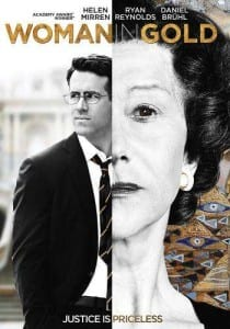 Movie – Woman in Gold, Tuesday, May 31 @ 1:00 PM