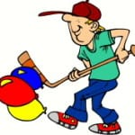 Balloon Hockey (Register Grade K-5) – Monday, July 25 – 6:30-7:30pm