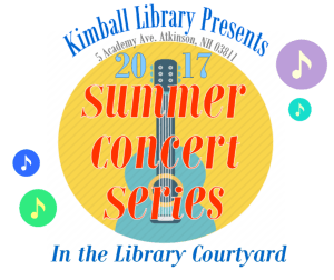 Concerts in the Courtyard ~ 2017 summer concert lineup!