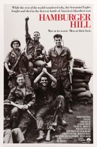Movie – Hamburger Hill ~ 1:00, Sept. 20th