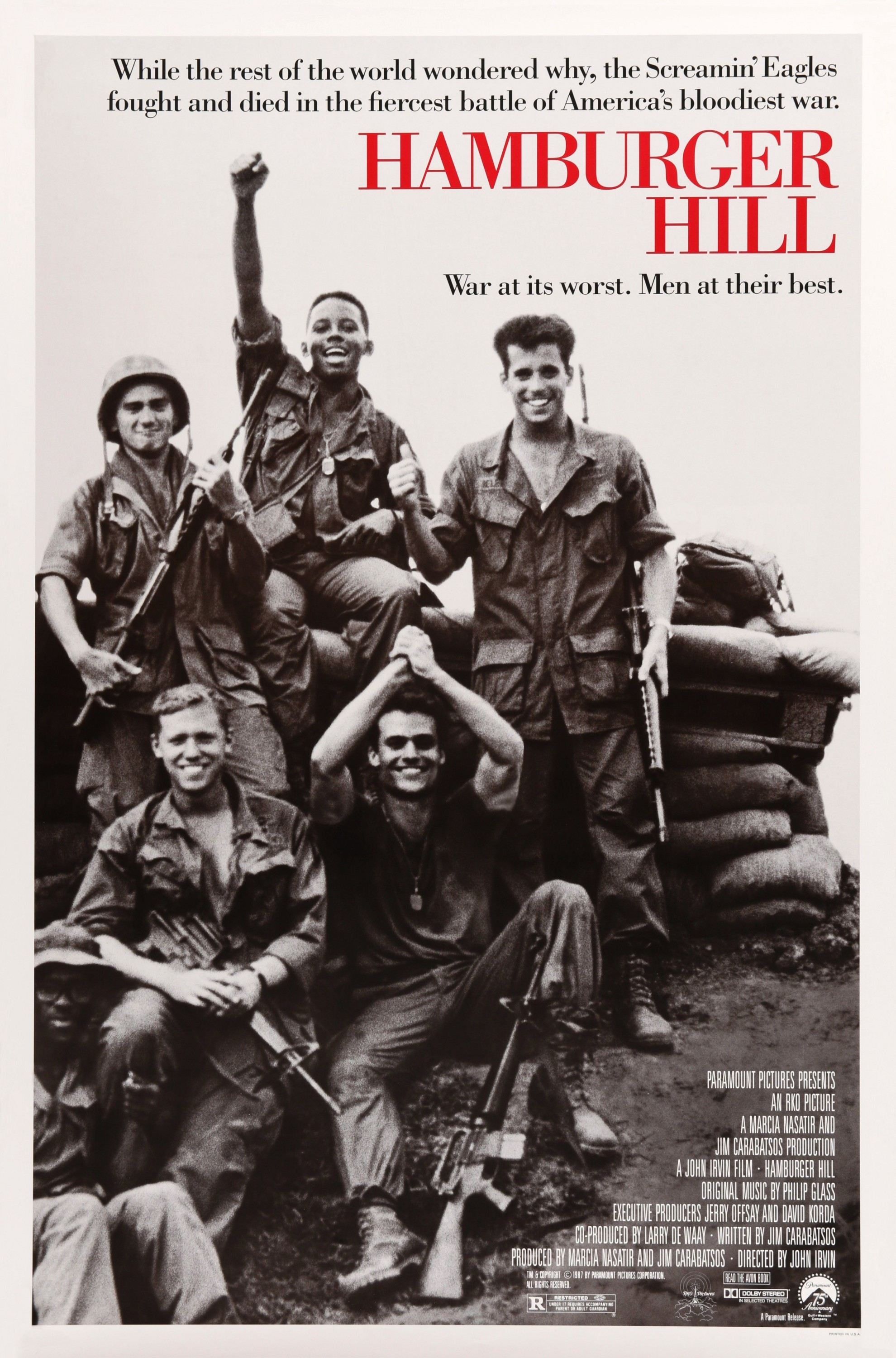 movie � hamburger hill 100 sept 20th kimball library