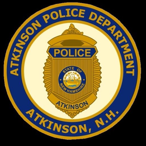 Meet and greet Atkinson Police Chief Crowley ~ Register to attend @ 1:00 or 6:30, Thursday 11/1/2018