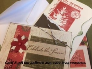 Scrapbooking Cards & Gift Tags for the Holidays ~  @ 6:00 on 11/30/17 (Registration required)