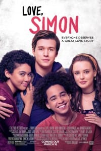 Love, Simon (Movie): 6/13/18 @7:00 PM (Register T/weens Grade 6 & UP)