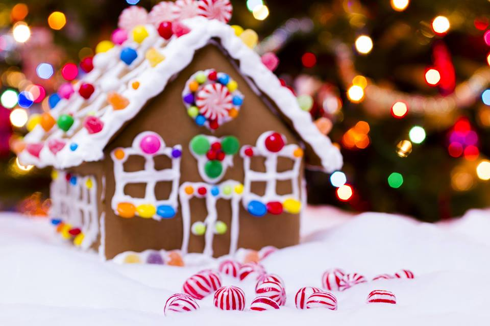 Create a Gingerbread House with Joanne Fiore *This event has been canceled