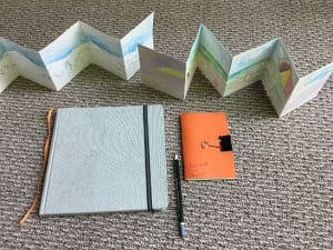 'Keeping a Sketchbook: Drawing Your World' with Sue Anne Bottomley ~ (Registration Required) at 10 AM, Starting 2/8/19