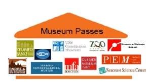 Museum passes logos