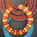 paperplate necklace